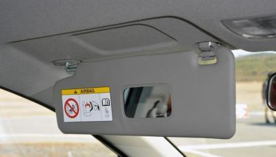 Anti Silau Penumpang Depan Honda BR-V yang dilengkapi dengan kaca