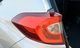 Tampak Dekat sebagian Lampu Belakang Honda BR-V