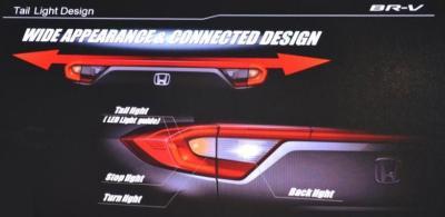 Konsep Desain Wide Appearance & Connected Design Honda BR-V