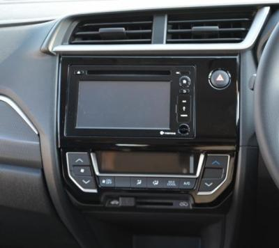 Audio Double DIN 6 Inch dan Panel AC Digital di Honda BR-V